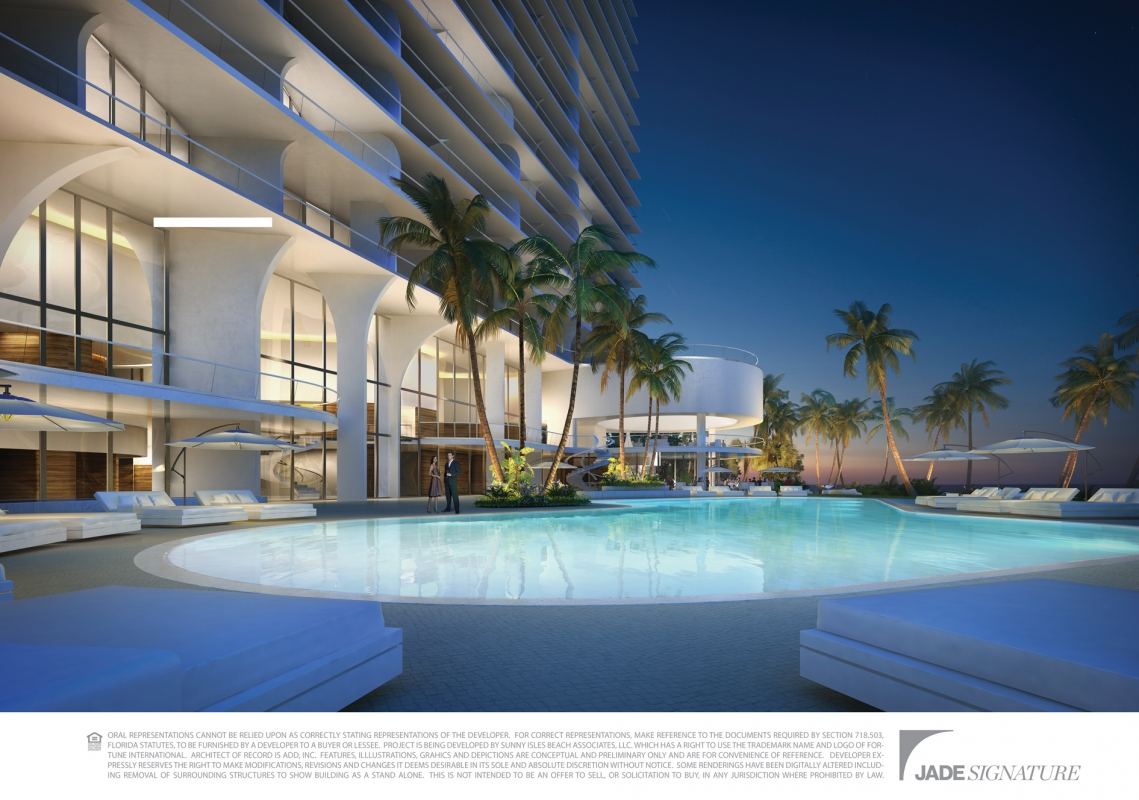 Jade signature sunny isles beach jade signature pre for Pool time pools