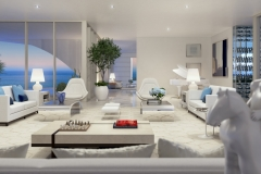 Jade Signature Upper Penthouse Living Room Main